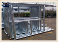 Q235 Building Frame scaffold , Walk through frame , H frame , Ladder frame , Mason frame scaffolding